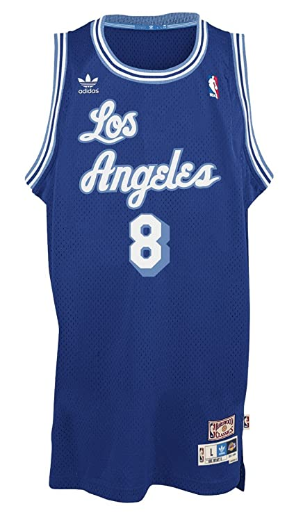 best website 93eb5 13b08 adidas Kobe Bryant Los Angeles Lakers Blue Throwback Swingman Jersey