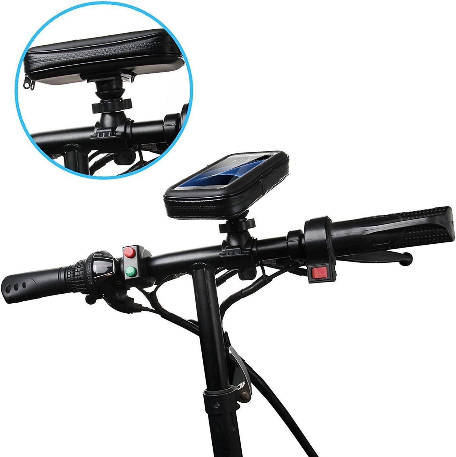 DaoRier Agua Densidad Bicicleta Moto Bike Carcasa ABS universal Soporte Bicicleta Manillar Soporte para teléfono móvil impermeable para iPhone 5 5 C 5S Samsung Galaxy ...