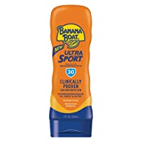 Banana Boat Ultra Sport Sunscreen Lotion, Broad Spectum SPF 30, 8 Fl Oz