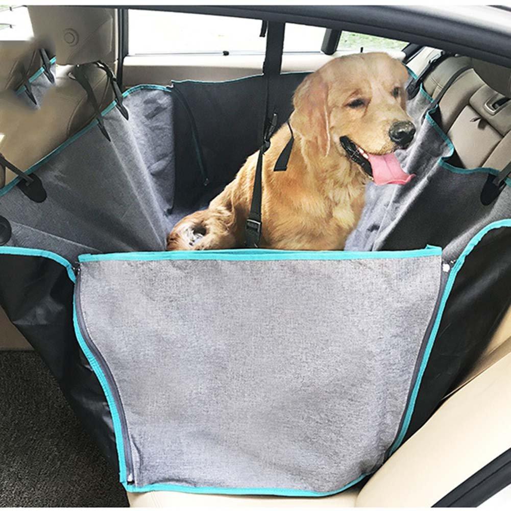 A Dog Car Mat Multi-Function Leisure Pet Car Mat Anti-Dirty And Scratch-Resistant Big Dog Sedan Rear Fence Car Mat,A
