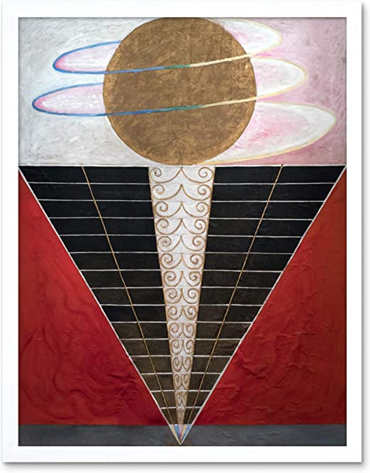 The Art Stop Hilma AF KLINT SVANEN Abstract Circles Painting Print F12X8524