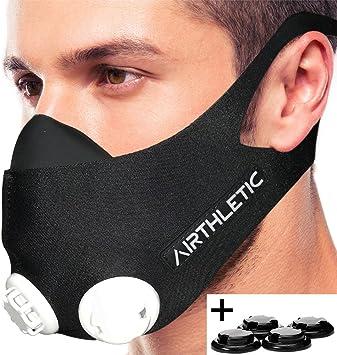 masque respiratoire avec valve