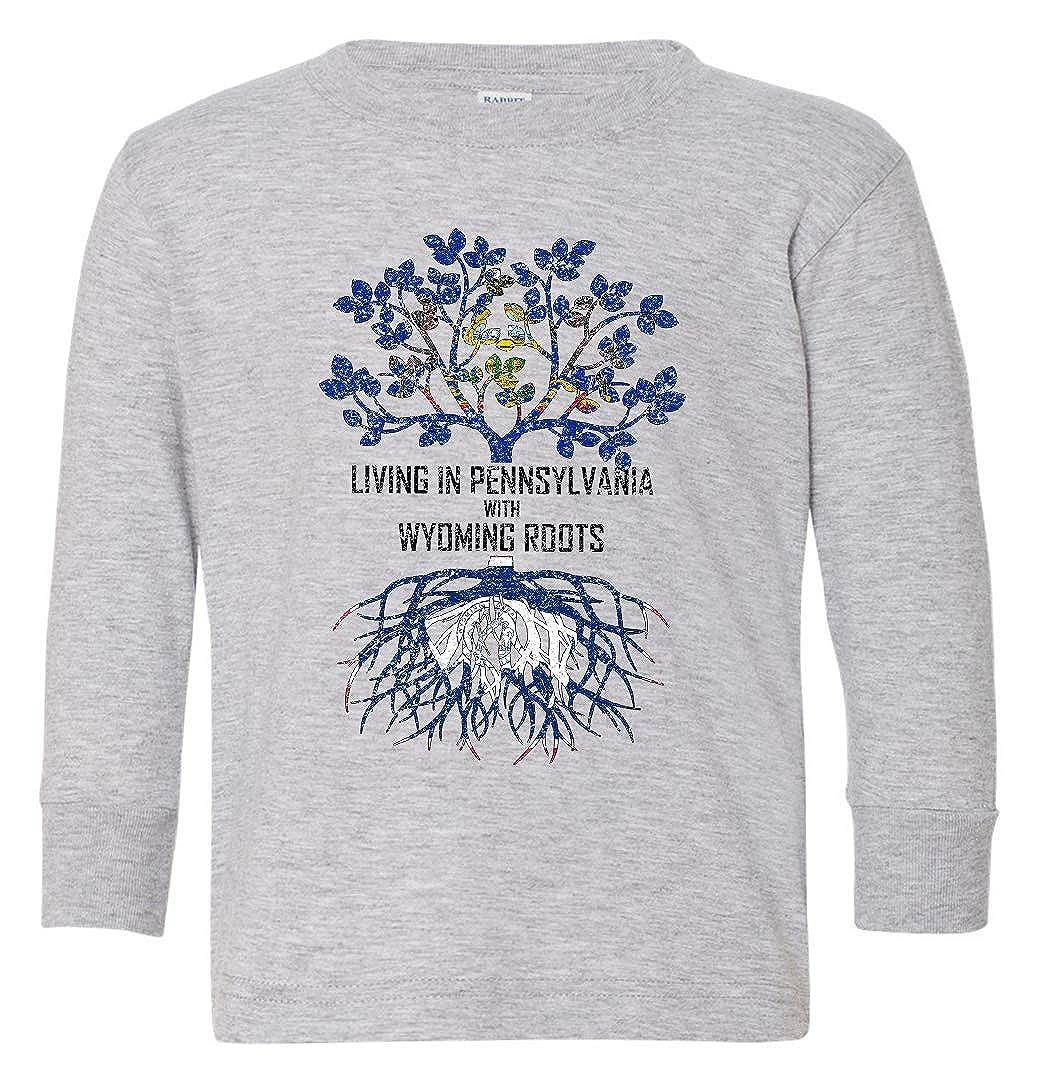 Tenacitee Babys Living in Pennsylvania Wyoming Roots Shirt