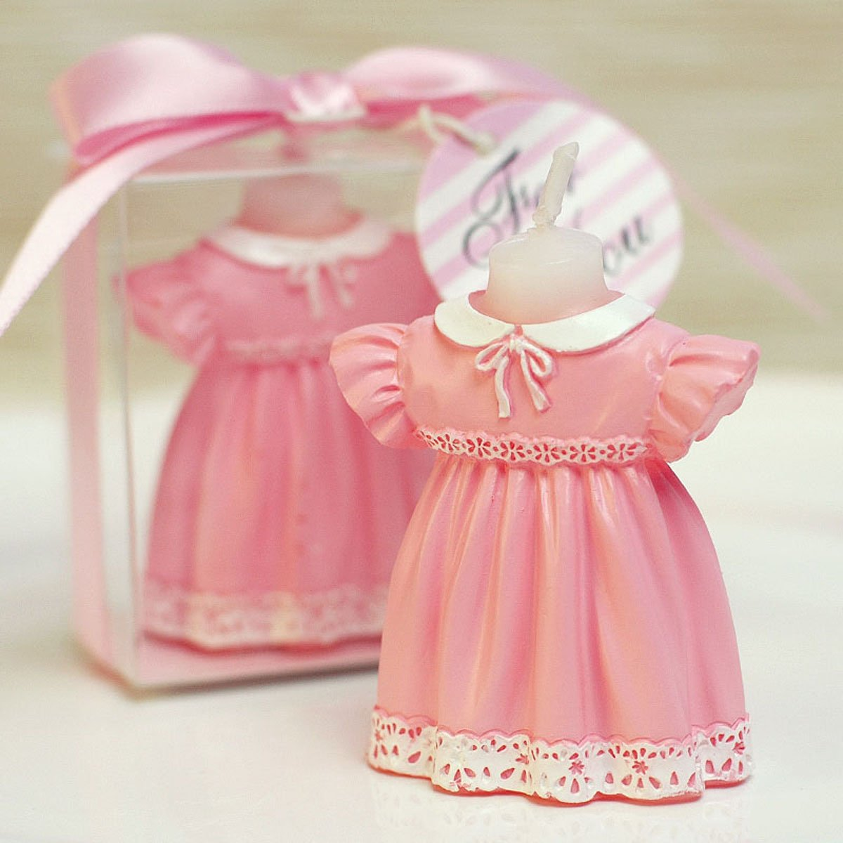Cartoon Romantic Childhood Clothes Charming Gifts Party Candles Smokeless Candles Birthday Candles for Baby Shower and Wedding Favor Keepsake Favor (5, Girl clothes)