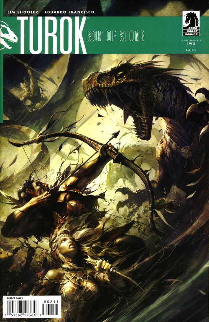 Amazon Com Turok Son Of Stone 3rd Series 2 Vf Nm Dark Horse Comic Book Entertainment Collectibles