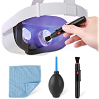 LANMU Cleaning Kit Compatible with Oculus Quest 2/Quest/Quest 3/Rift S/HTC Vive/Cosmos/Valve Index/PS4 VR Headset…