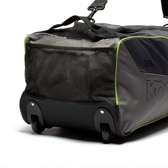 Grau Einheitsgr/Ã/Ÿe KOOKABURRA 2000 Wheelie Cricket Kit Tasche