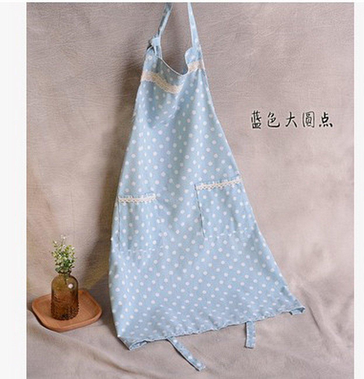 Geranjie韓国ファッションリネンストライプメンズandレディースエプロンウェイター調節可能な2ポケットシェフ作業ホームキッチン料理Painting Tablier   B078W1B52P