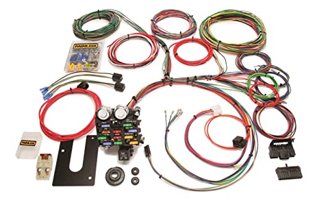 71albgIlRCL._SX463_ amazon com painless 10101 12 circuit universal streetrod harness 12 circuit universal wiring harness at bakdesigns.co