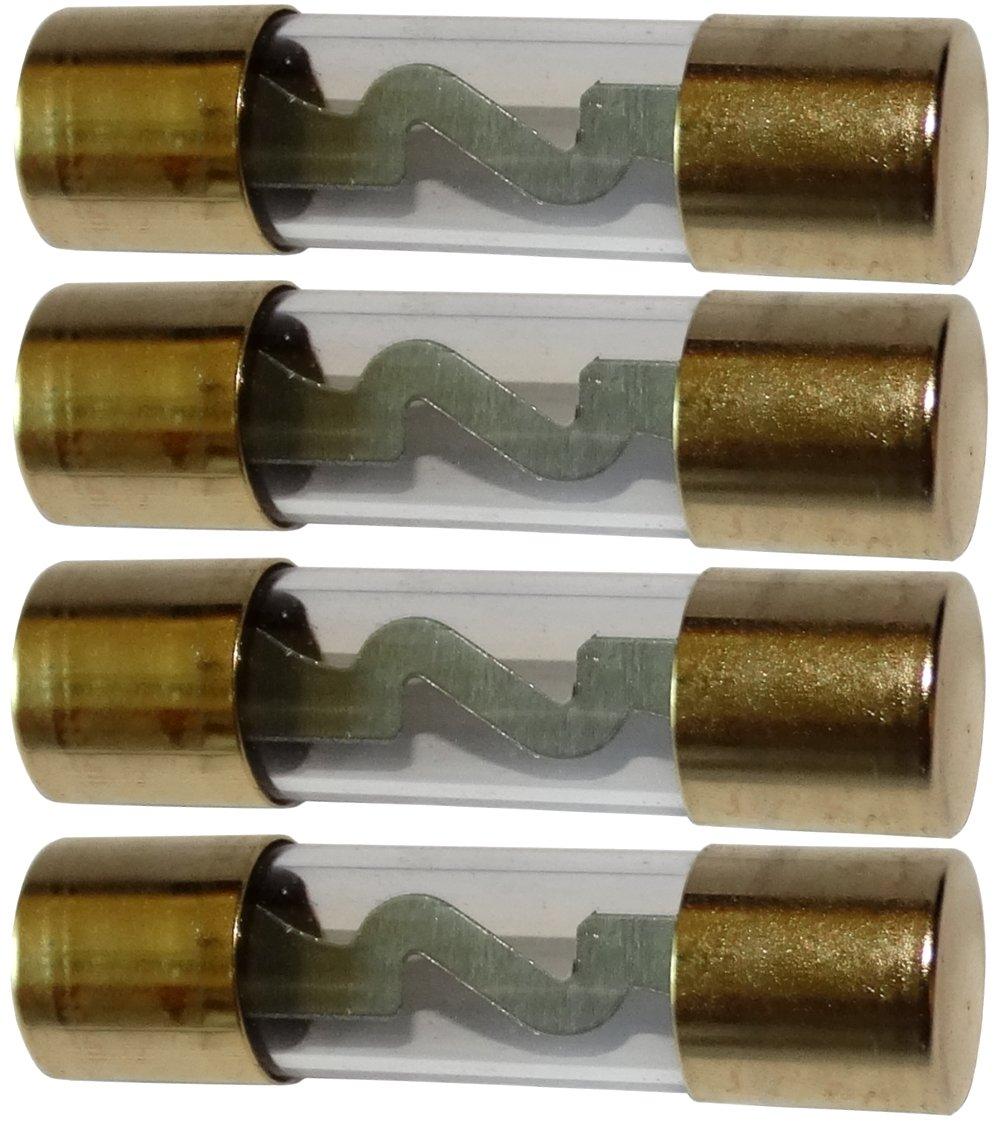 AERZETIX: 4 x Fusibles AGU 20A para amplificador subwoofer para auto sonorizació n SK2-C12403-C70