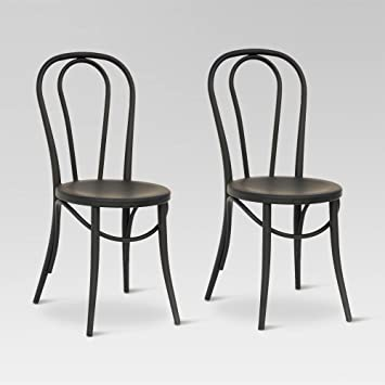 Bon Emery Metal Bistro Chair (Set Of 2)   Threshold