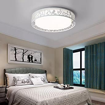 Decke Lampe Schlafzimmer Spitze Neu Mode Kreis Jingzou Den Led derCoBWx