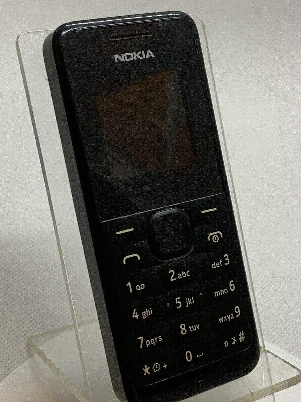 Brand new Nokia 105 unlocked black, [Importado de UK]: Amazon.es ...