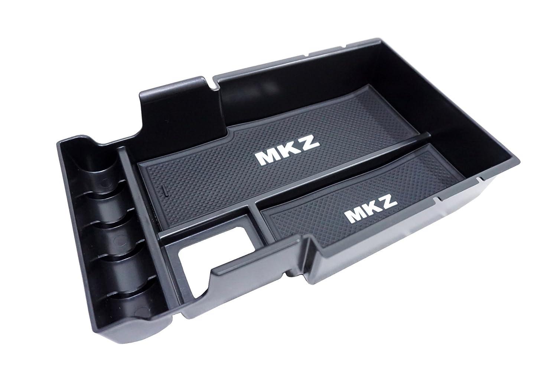 Vesul Armrest Secondary Storage Box Glove Pallet Center Console Tray for Lincoln MKZ Sedan 2017 2018