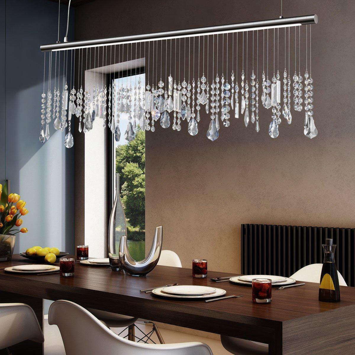 Haz STRETTA de Kolarz, 1 - Lámpara de techo, plata, 6005.30259.140: Amazon.es: Iluminación