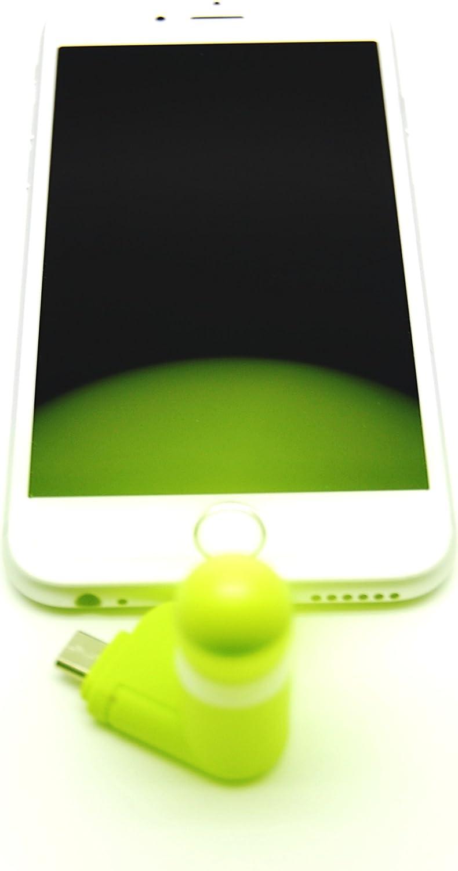 Quick Media Mini Ventilador Smartphone (Incluye Varios adaptadores USB): Amazon.es: Electrónica
