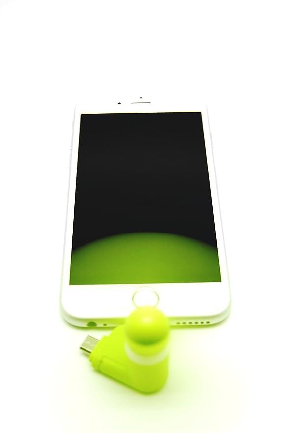 Mini Ventilador Quick Media para Smartphone (incluye adaptador microusb y Lightning): Amazon.es: Electrónica