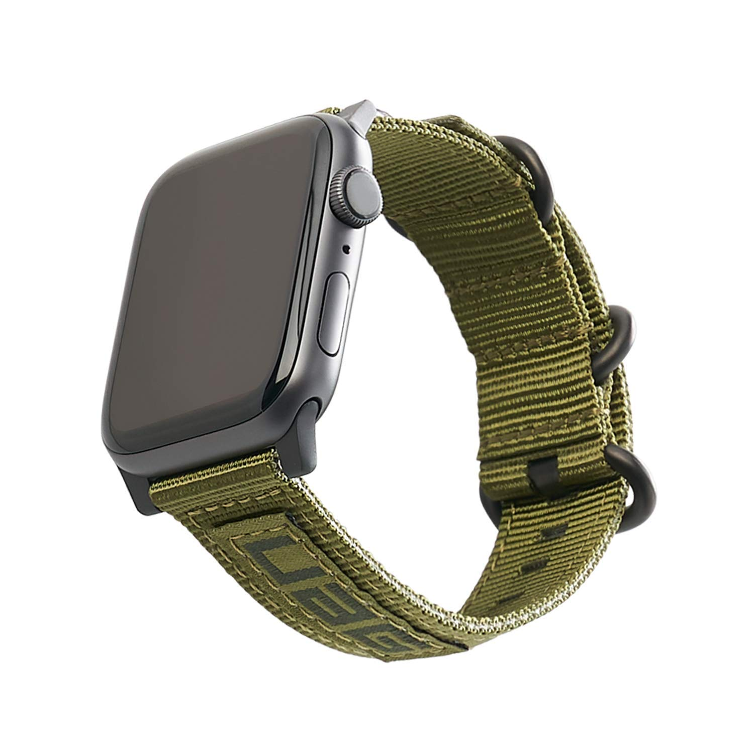 URBAN ARMOR GEAR UAG Compatible Apple Watch Band 44mm 42mm, Series 5/4/3/2/1, NATO Olive Drab by URBAN ARMOR GEAR