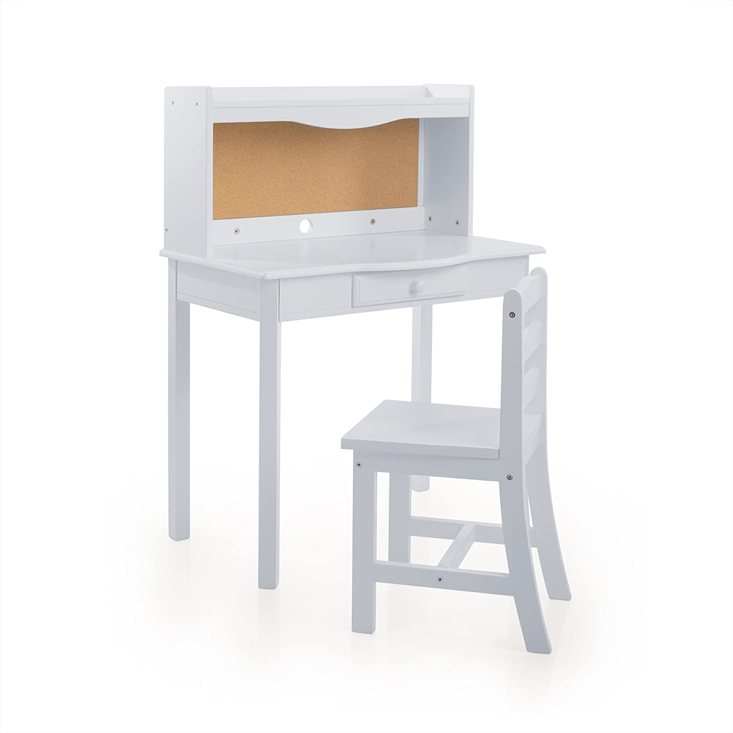 Guidecraft Classic Desk - Gray: Kids Study Table, Children's Furniture Children's Furniture Guide Craft G87812