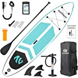 ADVENOR Paddle Board 11'x33 x6 Extra Wide Inflatable Stand Up Paddle Board with SUP Accessories Including Adjustable Paddle,B