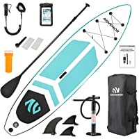 ADVENOR Paddle Board 11'x33 x6 Extra Wide Inflatable Stand Up Paddle Board with SUP Accessories Including Adjustable…