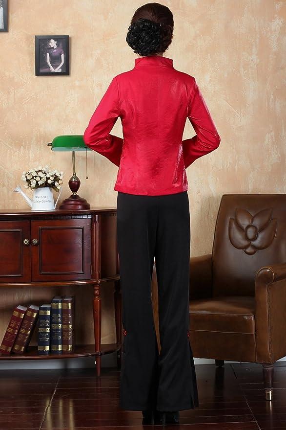 Amazon.com: JTC – Chaqueta para mujer estilo chino Tang ...
