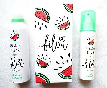 Bilou Splashy Melon 2 In 1 Cremiger Duschschaum 200 Ml Bodyspray