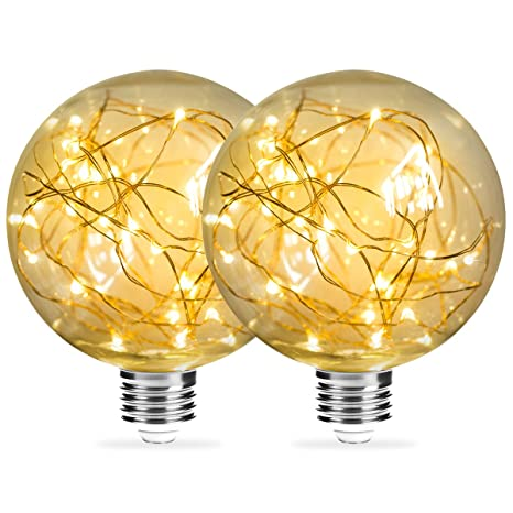 tama/ño grande intensidad regulable E27 ES 3 bombillas de globo de Edison vintage de 40 W 80 mm
