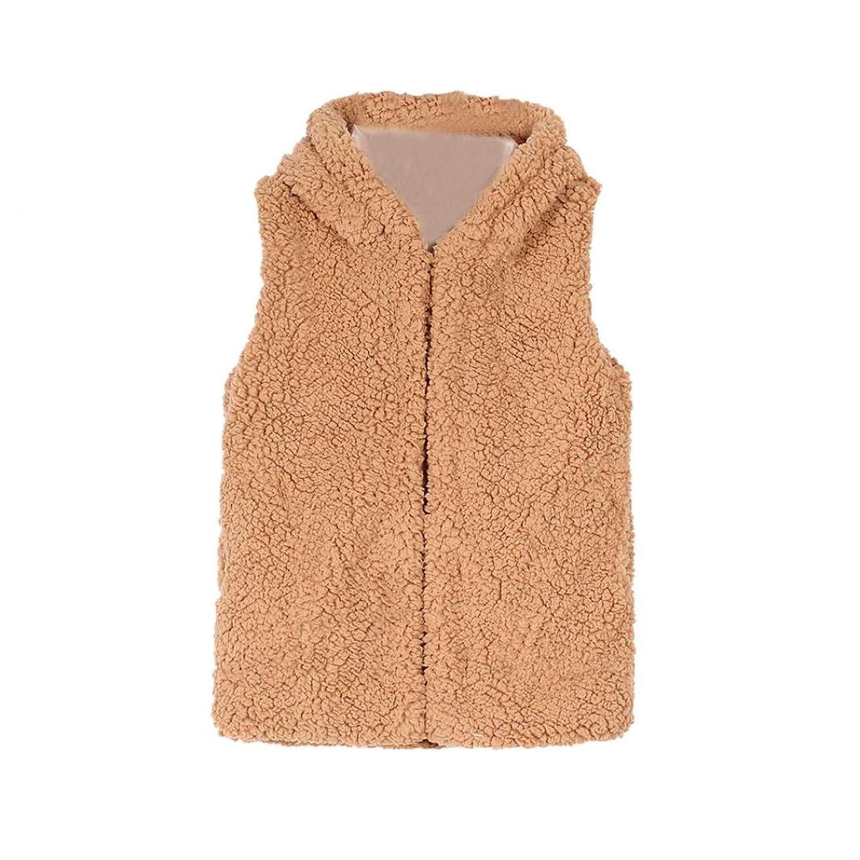manteau bébé, Tpulling Enfant bébé filles automne hiver manteau capuche fausse fourrure gilet chaud vêtements usure