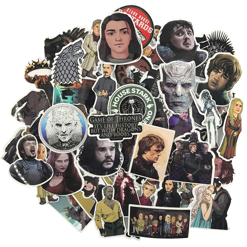 Stickers Calcos 60 un. Game of Thrones (7QK8R6VX)