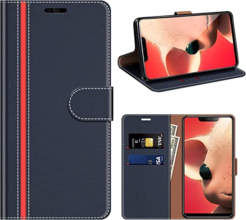 Coodio Huawei P Smart Hülle Leder Huawei P Smart Plus Elektronik