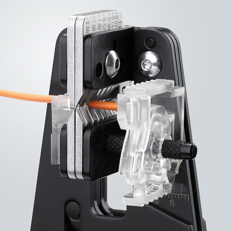 KNIPEX 12 12 11 Präzisions-Abisolierzange für Solarkabel Solarkabel Solarkabel B0020RZT34 | Bevorzugtes Material  4a1f58