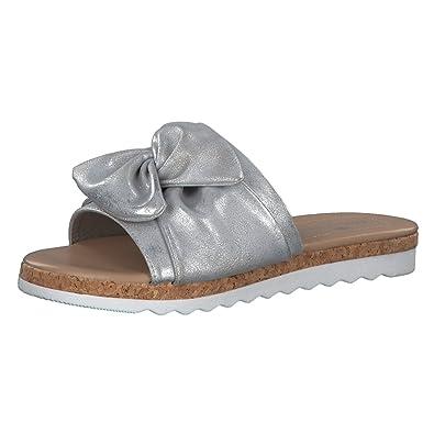 Tom Tailor Damen Sandale 4892505 Silver 39 qBeIE