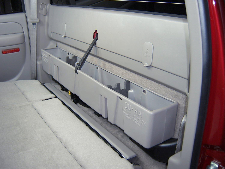 Du Ha 10023 Chevrolet//GMC Behind Seat Storage Console Organizer Dark Grey