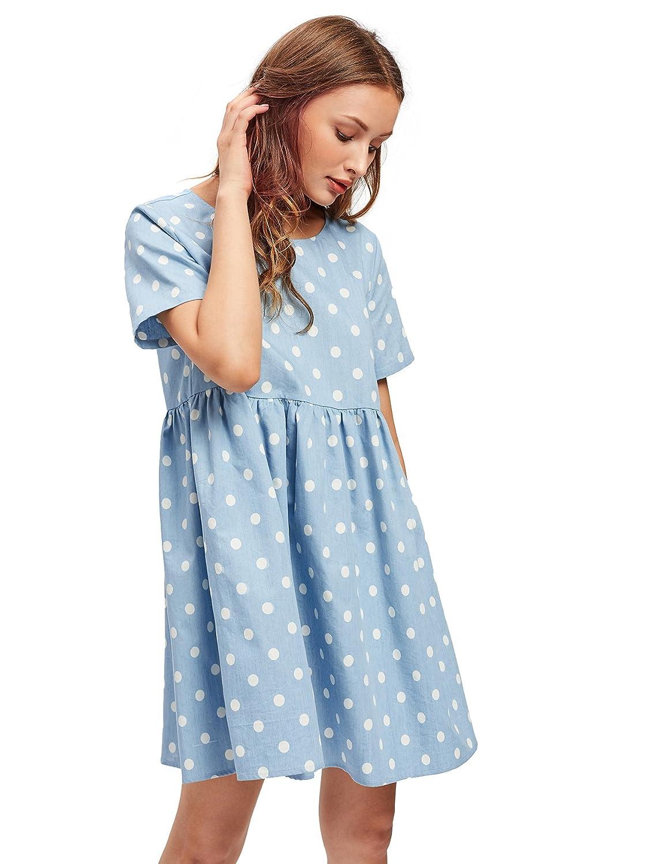 0e0ca2b998 Materials  Blue Red  100% Cotton   Blue   Blue Orange  Cotton + Polyester  Summer frill trim A-line check dress  round neck