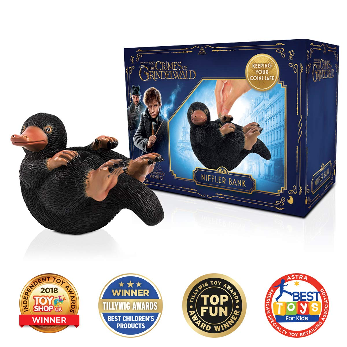 WOW! Stuff Collection Fantastic Beasts Niffler Money Bank