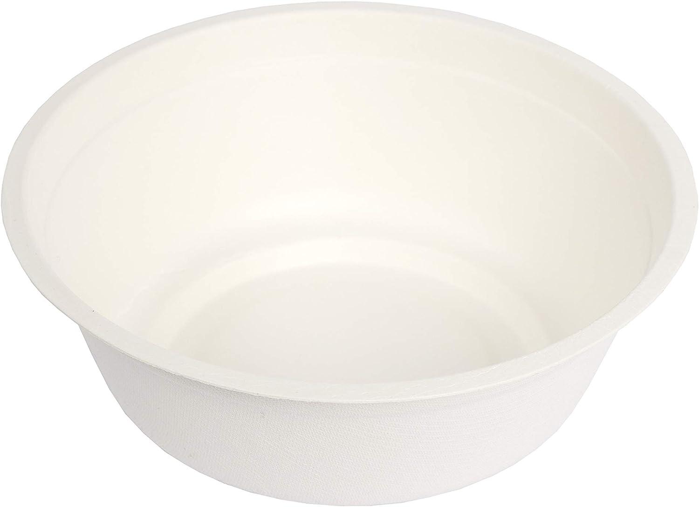 B000JKTFTS Stalkmarket 100% Compostable Sugar Cane Fiber Soup Bowl, 16 Oz, 500Count case 71alsiFea4L