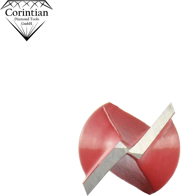f/ür Holz und Kunststoff /Ø 10mm HW Corintian V-Nutfr/äser HM 6 mm Schaft Nutenfr/äser//Schriftenfr/äser aus Hartmetall und Grundschneidend 90/°