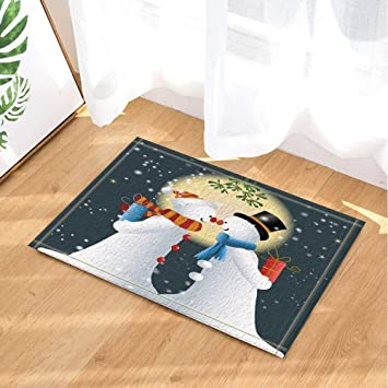 Amazon Com Koperororo Christmas Decor Snowman With Gift Friendship