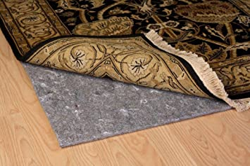 Duo Lock Reversible Felt And Rubber Non Slip Rug Pad, Size: 4