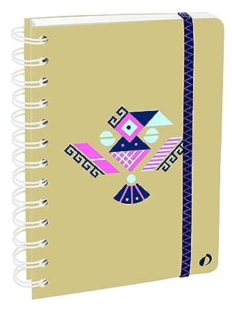 Agenda Escolar con espirales 1 Día/Página 2019-2020 Ethnik ...