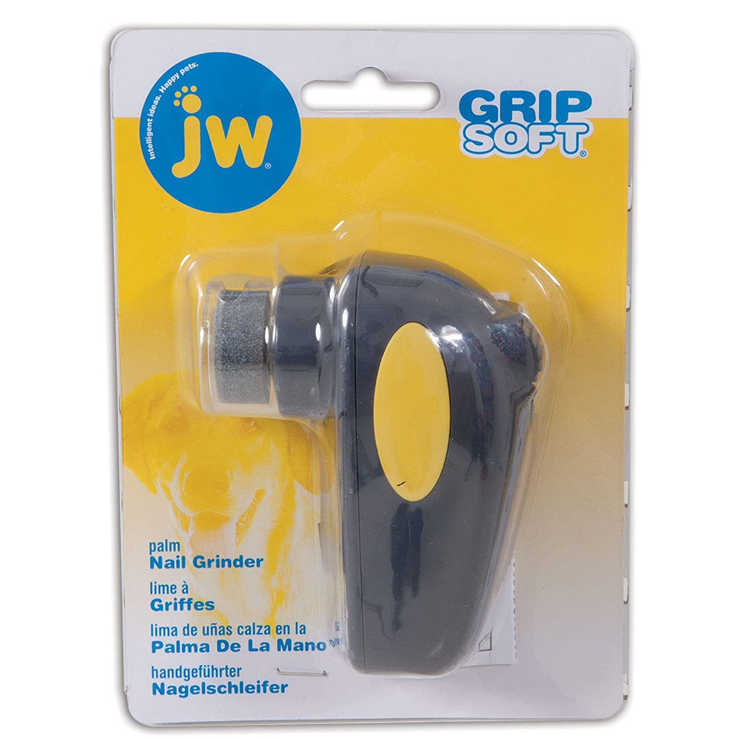Amazon.com : JW Pet Company Palm Nail Grinder for Dog : Pet Supplies