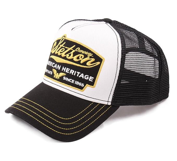 Stetson - Gorras de béisbol Hombre American Heritage - noir-jaune-17