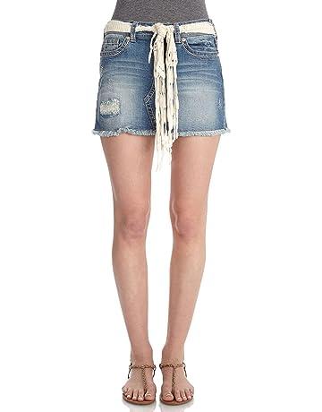 56115d151d WallFlower Women's Juniors Denim Skirt