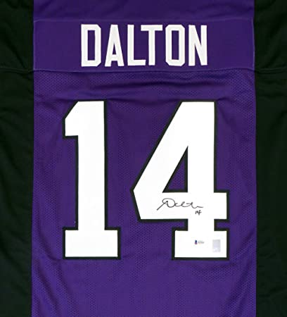 andy dalton autographed jersey