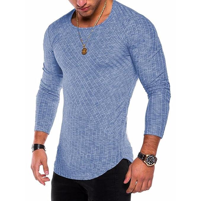 WINWINTOM Moda de Verano Camisetas, 2018 Hombre Camisetas y Polos, Moda Hombres Ajustado O