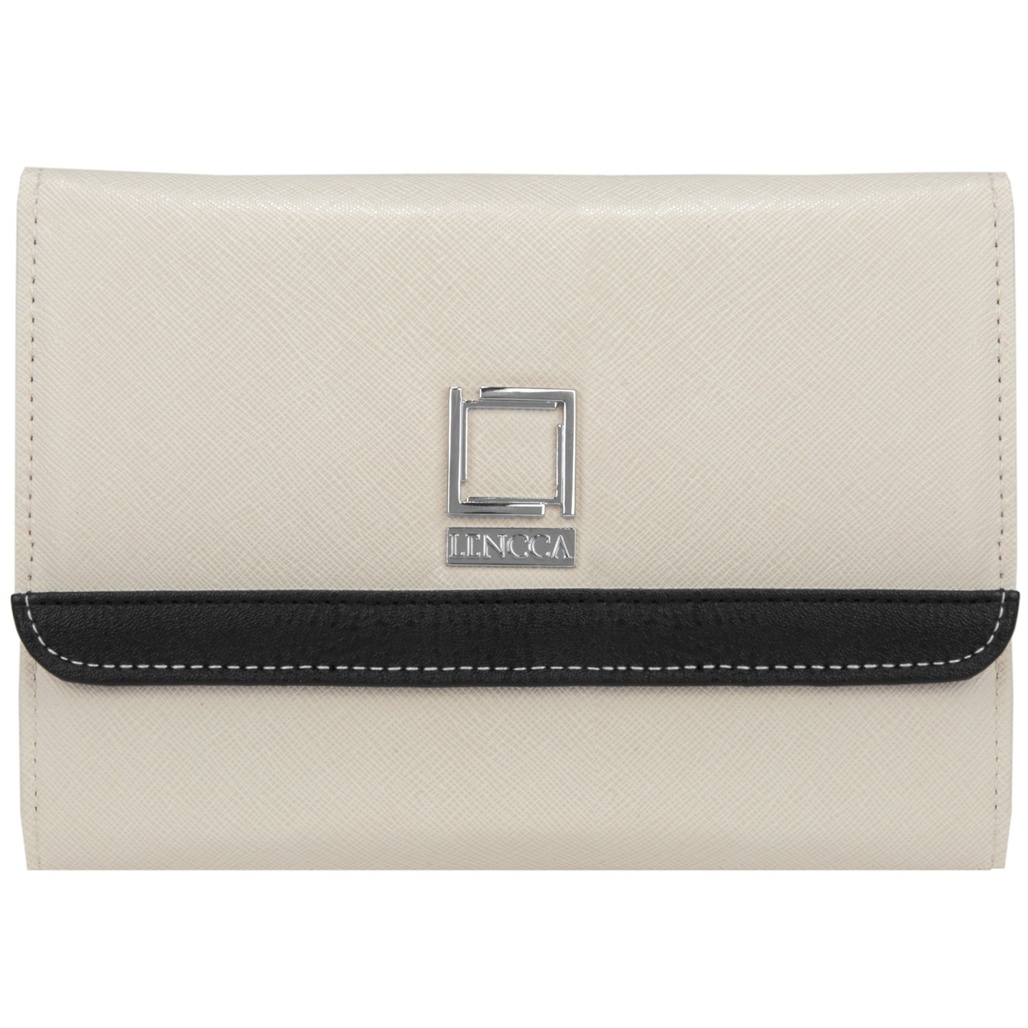 Women's Designer Ivory Clutch for Samsung Phones by Lencca