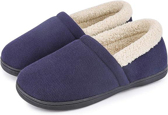 Men's Comfy Fuzzy Knit Cotton Memory