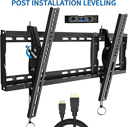 Tilt LCD LED PLASMA FLAT TV WALL MOUNT BRACKET 23 25 27 32 40 42 BLACK