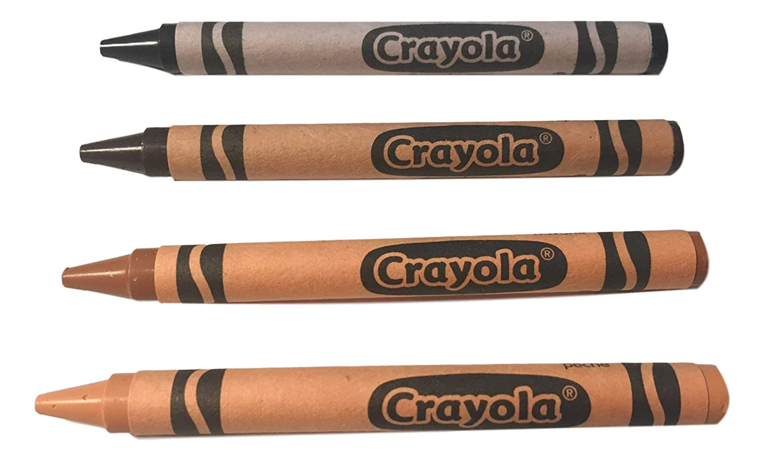 Crayola Multicultural Crayons 4 pack Cellophane Wrapped 40 packs - 160 crayons total